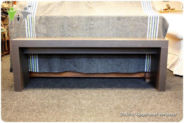 Smalle Witte Sidetable.Lange Smalle Sidetable 1 75m Lang Bruin Gelamineerd